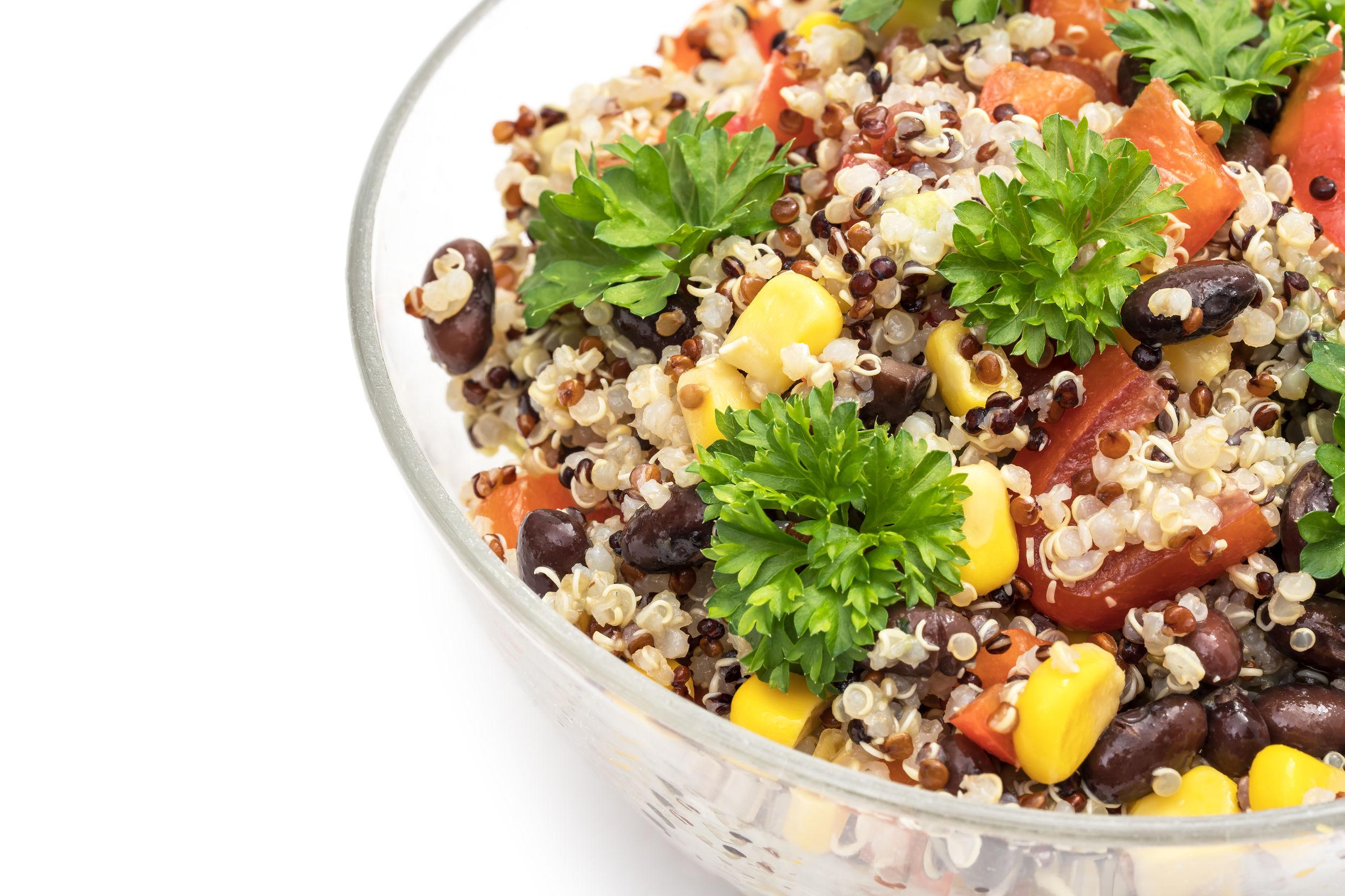 quinoa salad recipe with black beans