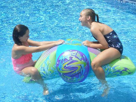 inflatable pool toys