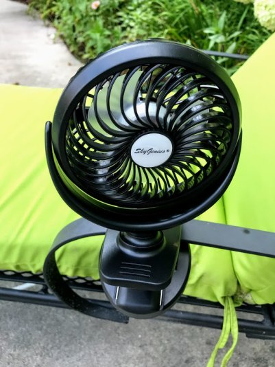 clip on fan for swimming pool lounge chairs