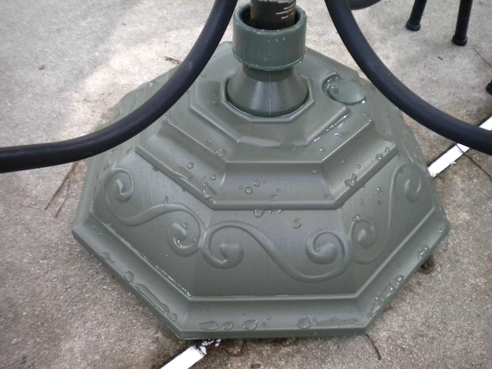 patio umbrella stands
