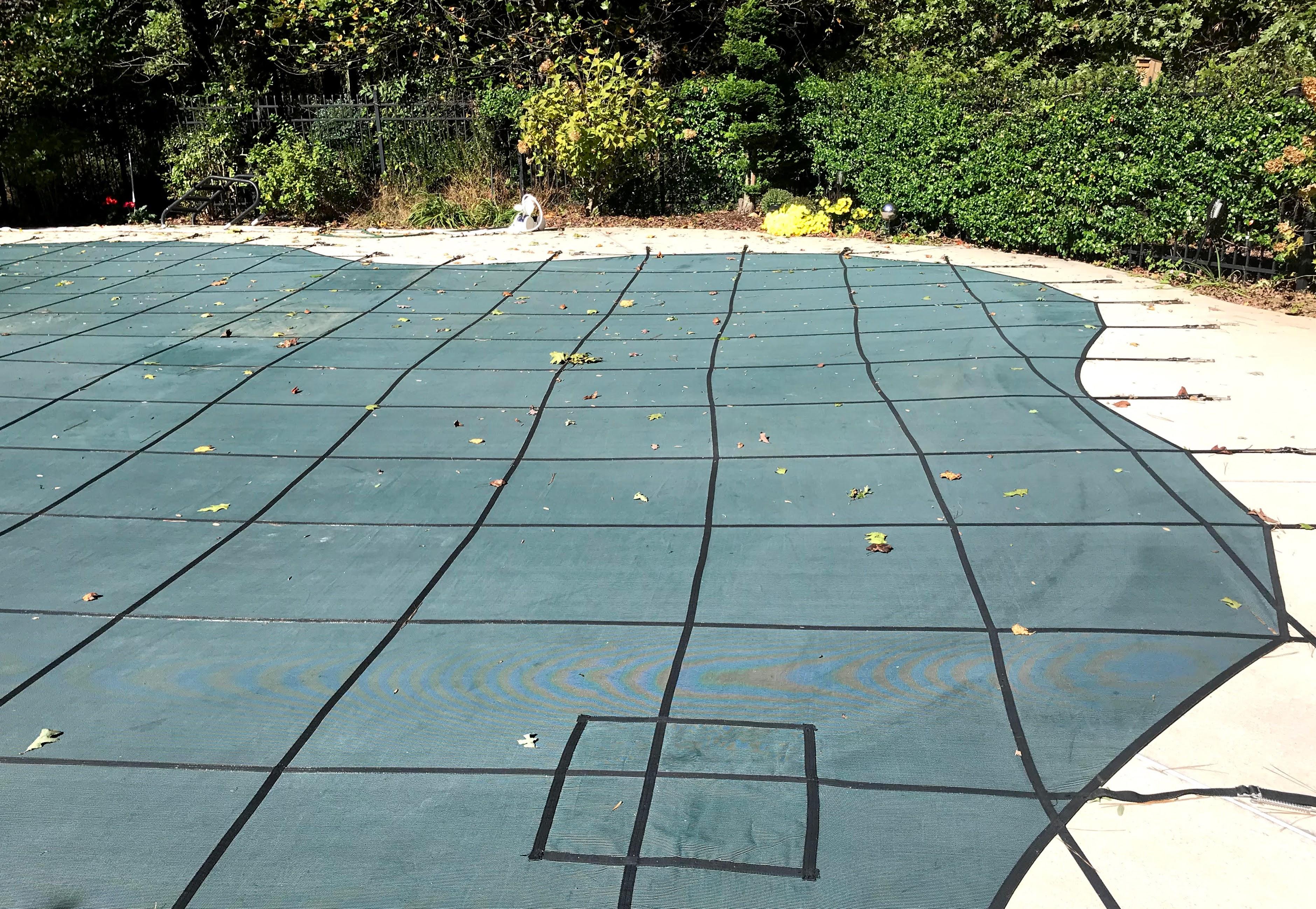 mesh inground pool covers