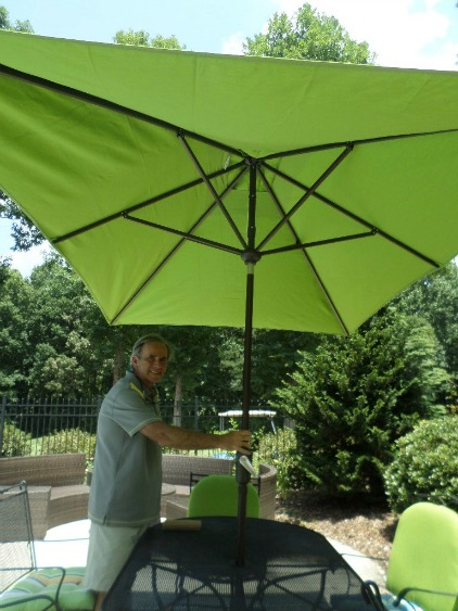 rectangular patio umbrella