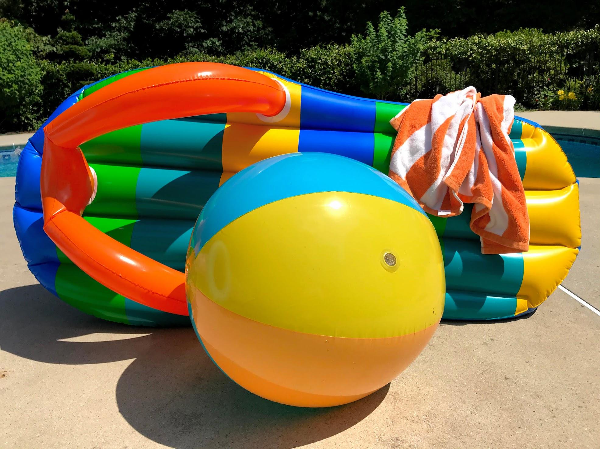 beach teen pool party