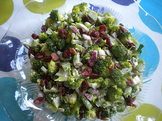 cold vegetable salad
