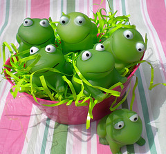 frog party favors