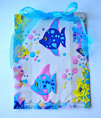 fish party invitations