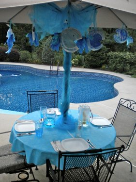 Fish Birthday Party - Get In the Swim with This Kids Pool ...