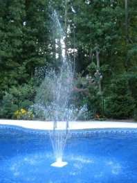 floating pool fountains