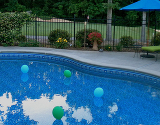 floating swimming pool lights
