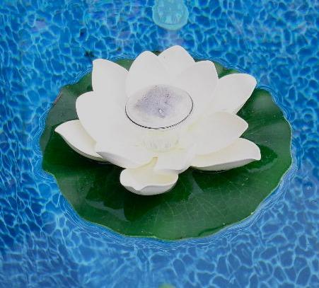 Floating Pool Lights Provide Spectacular Sublte Or Simple Floating Lights