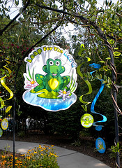 frog party decorations