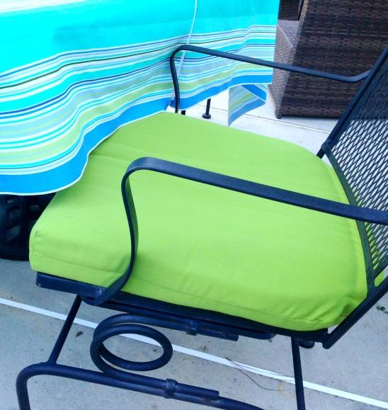 Sunbrella chair cushions