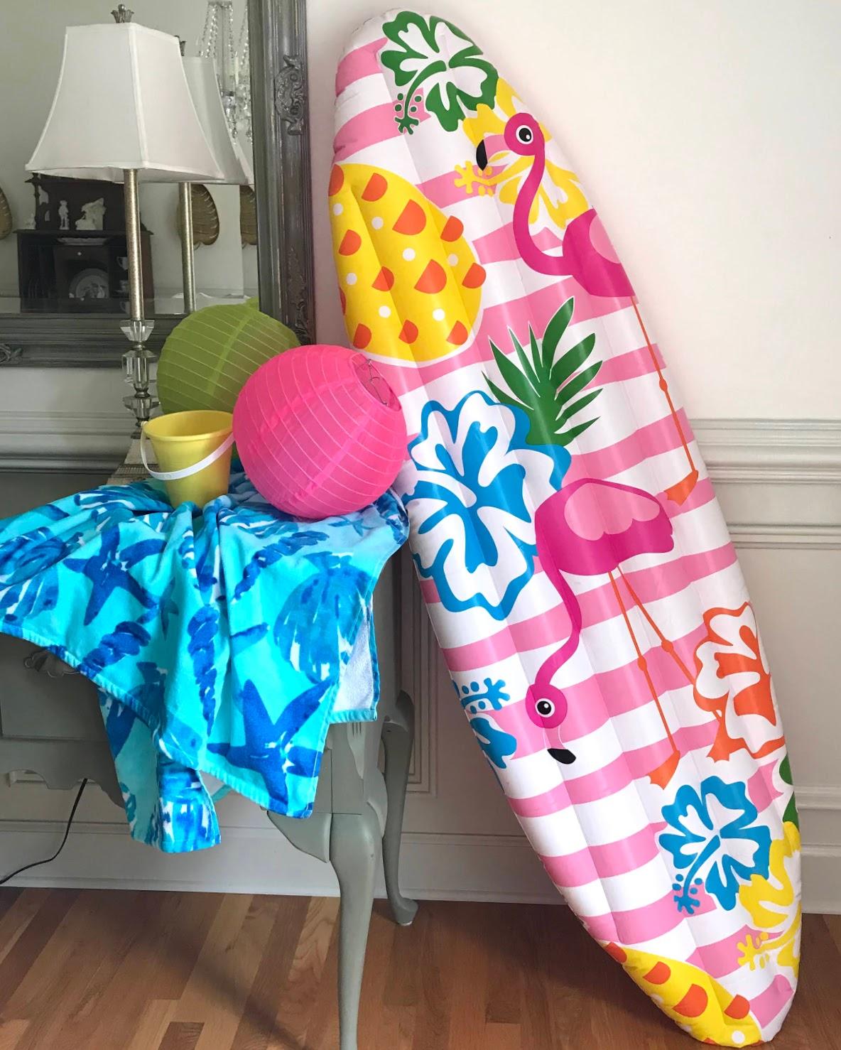 indoor beach party ideas