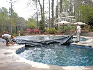 inground swimming pool cover