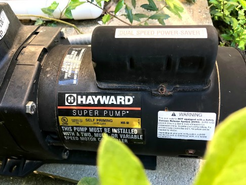 swimming pool water pump