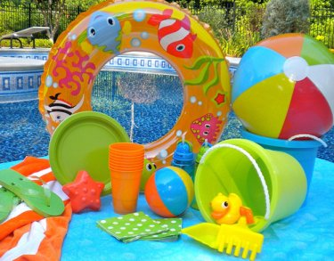 kids beach party with beach party decoration ideas