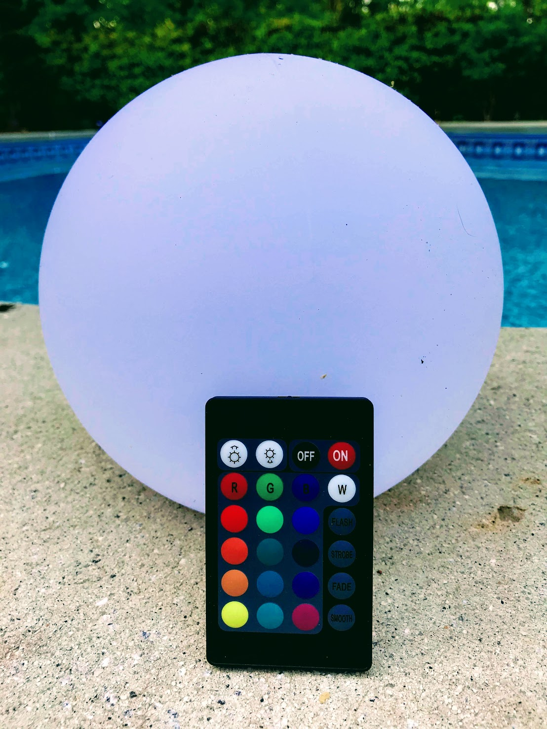 solar color changing lights