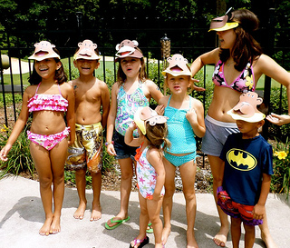 kids pool party