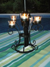 lighted patio umbrella