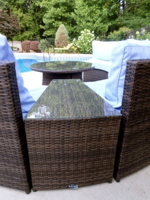 patio furniture conversation set