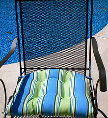 wrought iron chair cushions