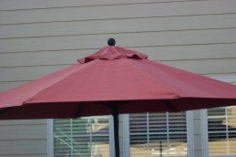 here's why you want a sunbrella market umbrella