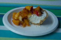 no bake cheesecake recipe, peach cheesecake recipe