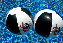 pirate beach balls
