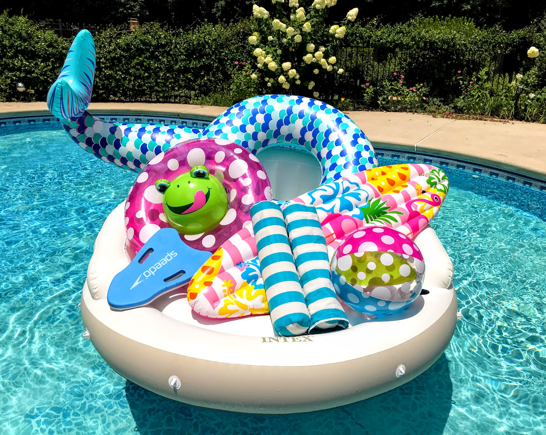 cool pool toys and floats