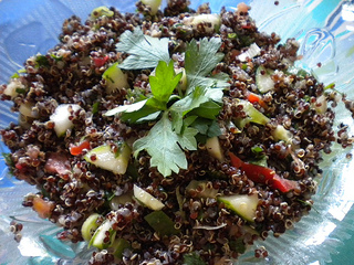 black quinoa salad recipe