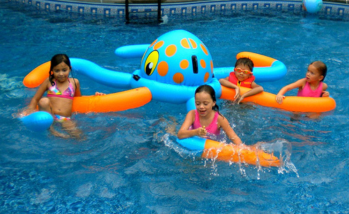 kids pool party ideas mermaids pirates and hopping frogs