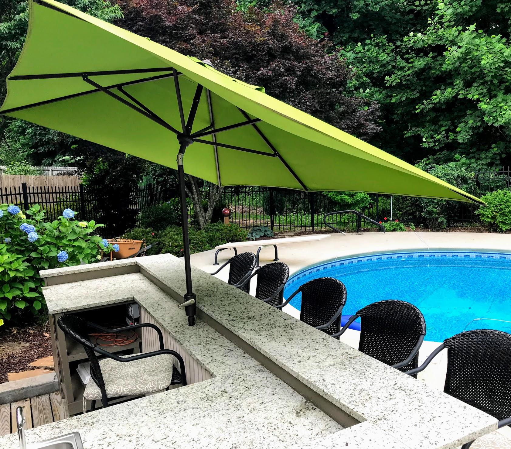 tilt rectangle patio umbrella