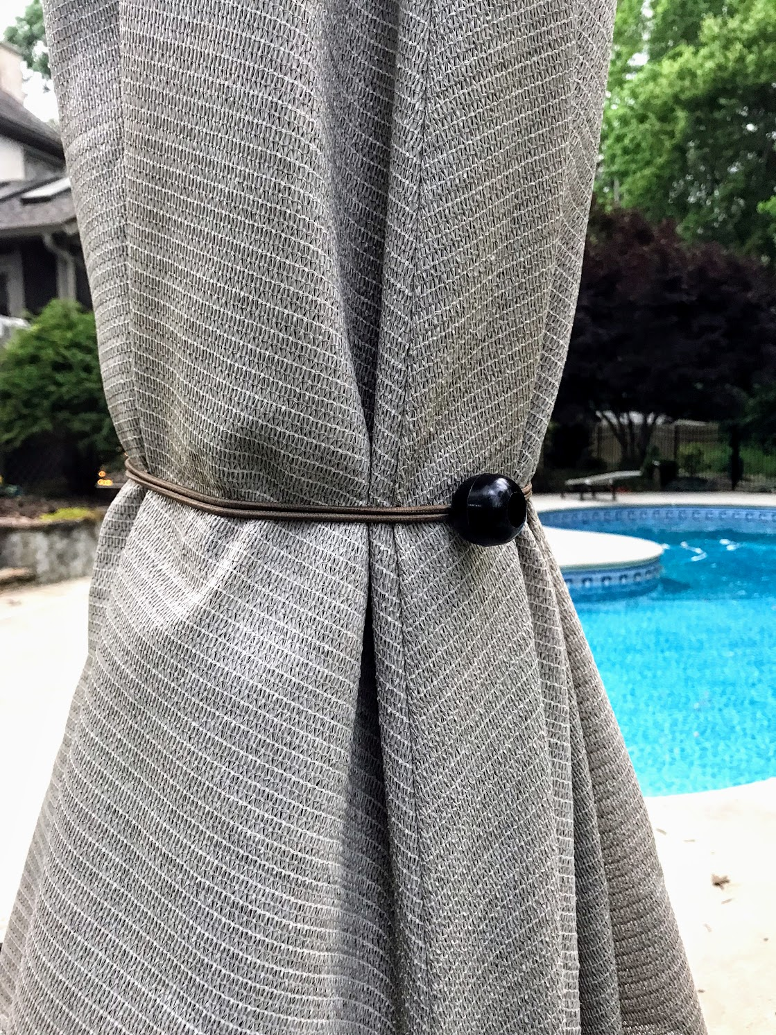 windproof your pool umbrella