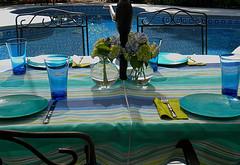 umbrella tablecoths