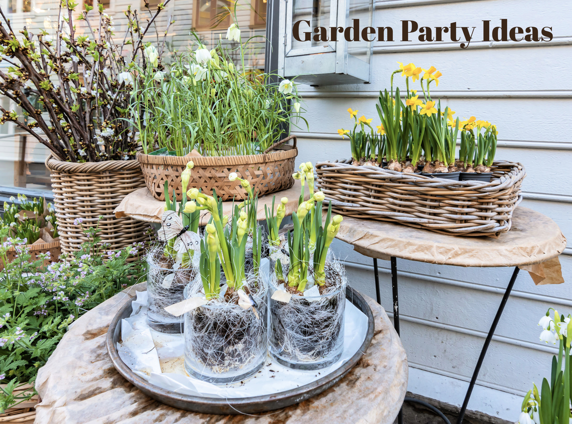 garden party decorations