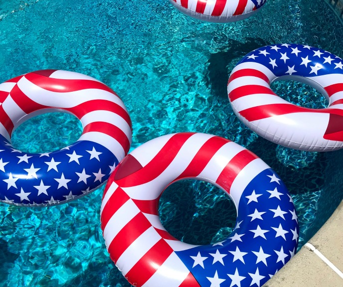 4th of July pool party theme