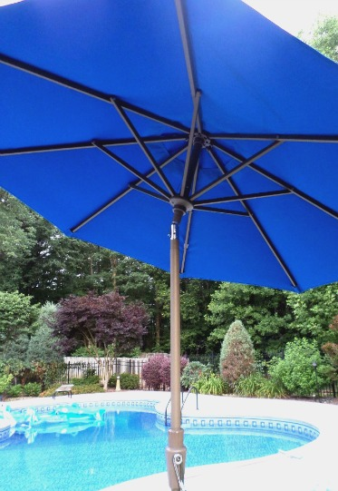 tilt pool umbrellas