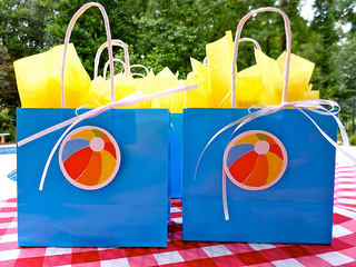 beach ball party supplies
