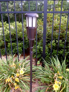 tiki torch solar lights
