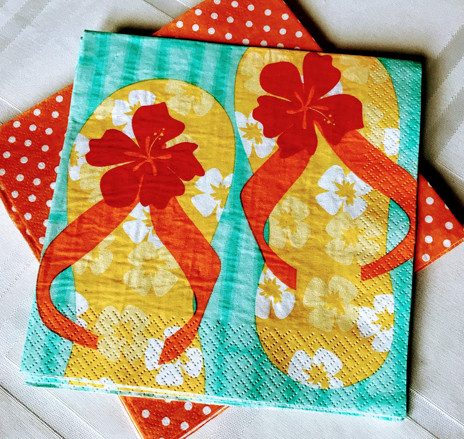 flip flop swimming pool party ideas