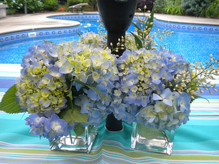decorating for a garden party