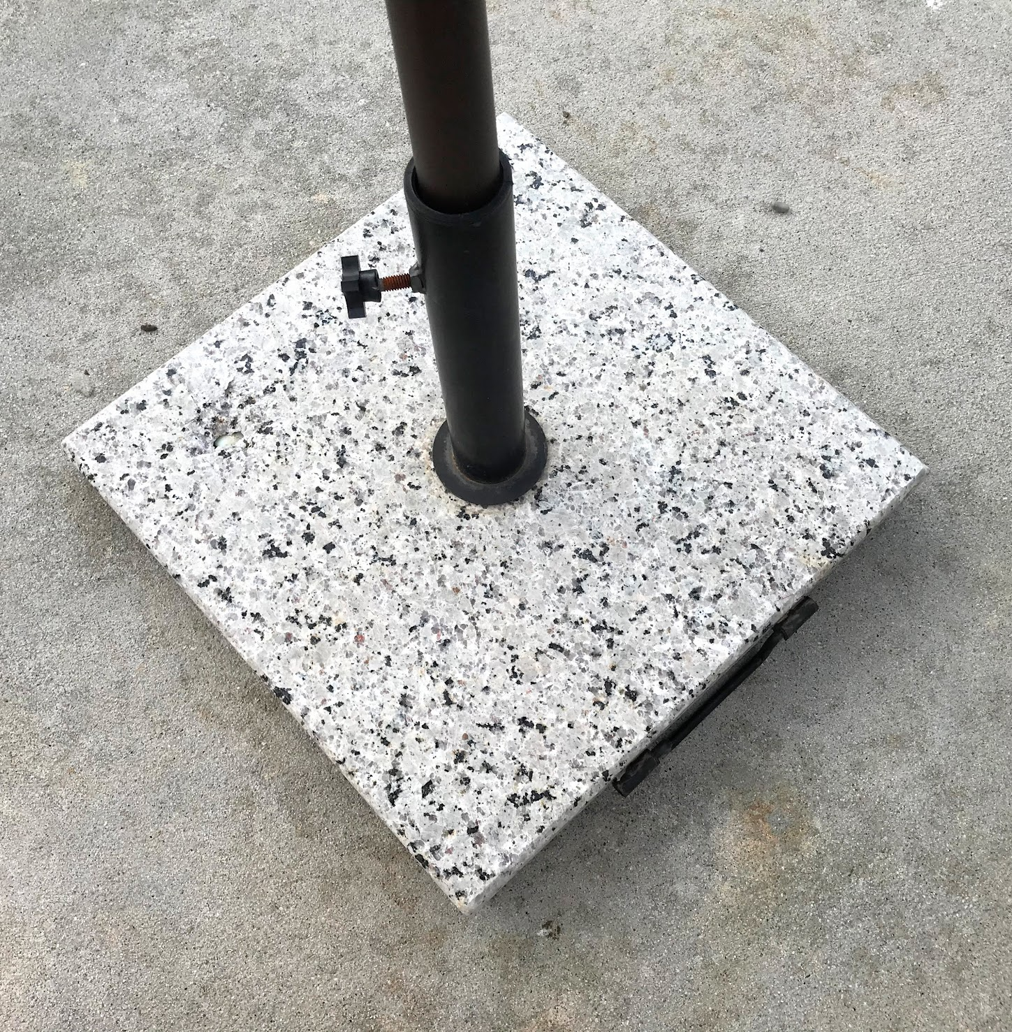 granite outdoor umbrella stand