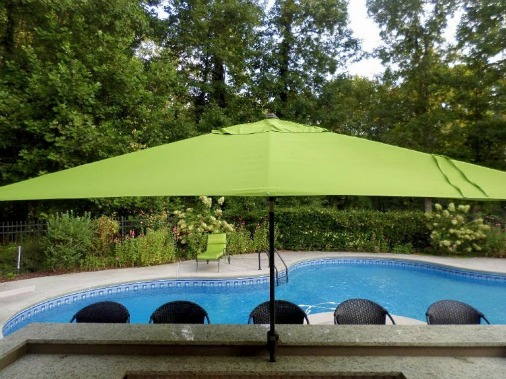 rectangle patio umbrella