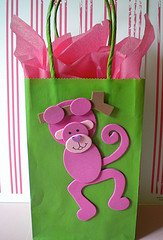 monkey party bags