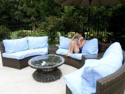 inexpensive patio furniture sets