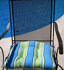 wrought iron chair cushions