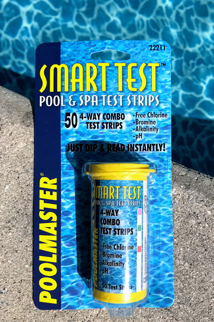 testing chemicals for swimming pool