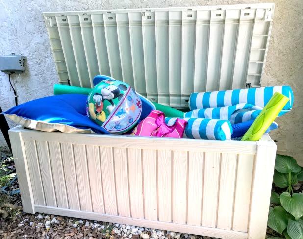 Pool Toy Storage