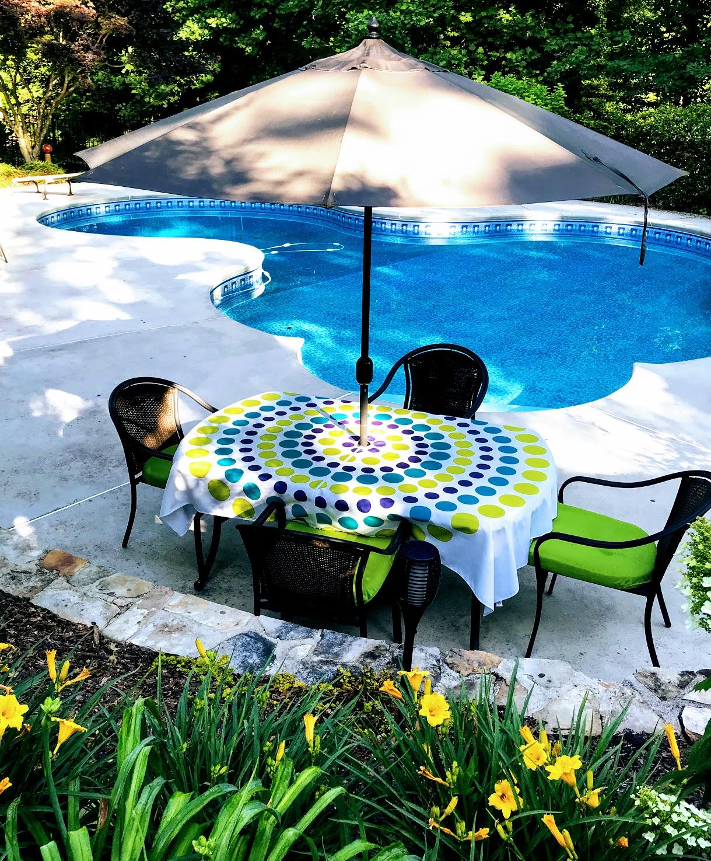 pool umbrellas