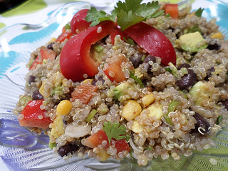 quinoa salad recipe black beans